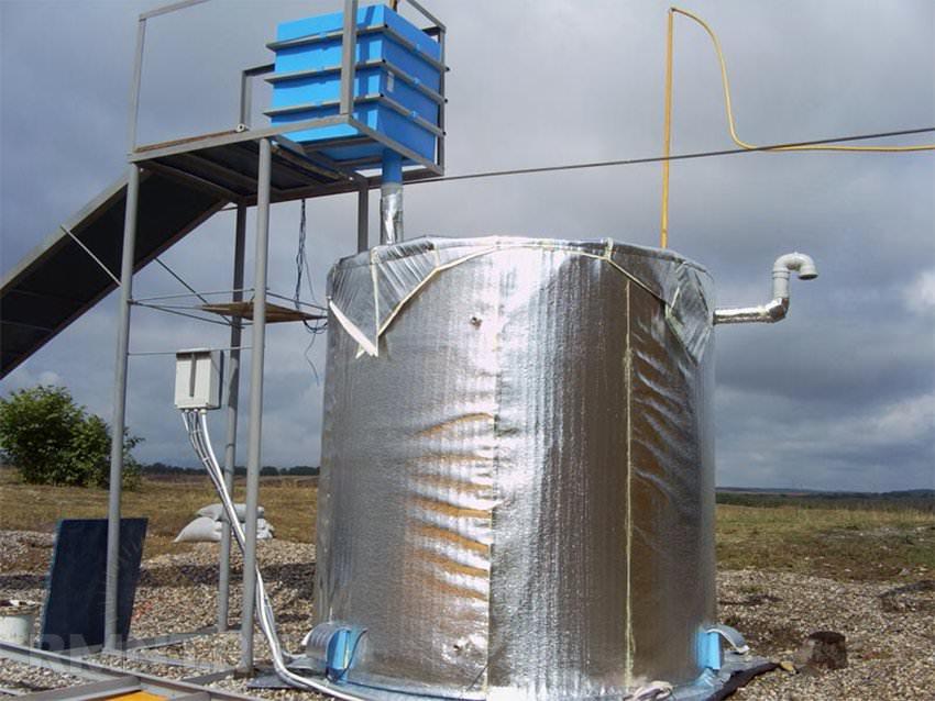 Биогаз своими руками чертежи фото