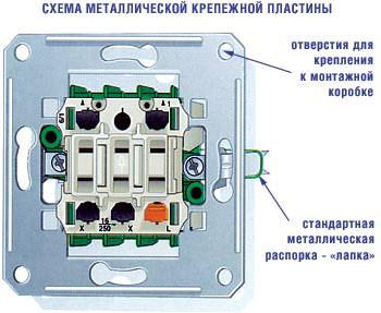схема выключателя