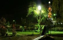 Виды и установка светодиодных прожекторов для уличного освещения