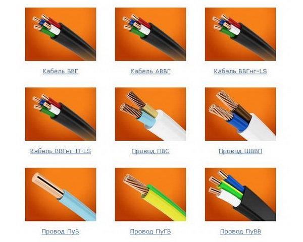 кабели ВВГ
