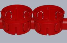Разновидности и установка подрозетника для бетона