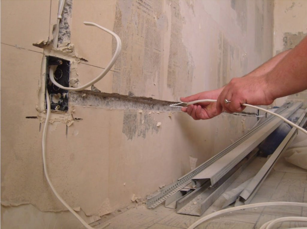Проводка в доме своими руками схемы