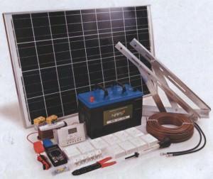 Примерная комплектация солнечных батарей