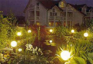 Светодиодные светильники на даче
