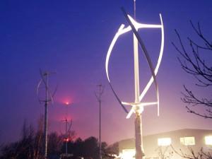 Ветрогенераторы с вертикальной осью