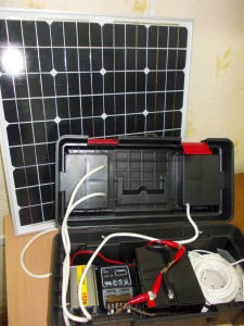 Комплект солнечной батареи