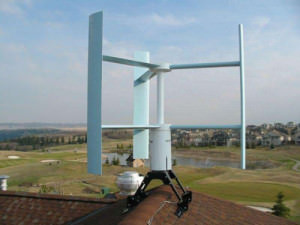 Ортогональный ветрогенератор