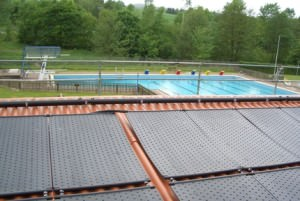 Солнечные коллекторы для бассейна