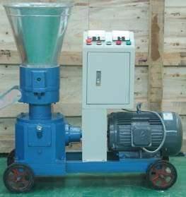 Пресс-гранулятор с электродвигателем
