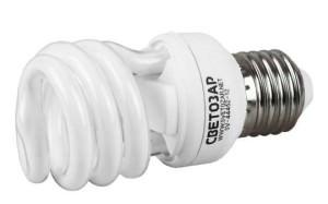 энергосберегающая лампа СВЕТОЗАР