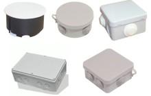 Разновидности, устройство и монтаж распределительных коробок для электропроводки