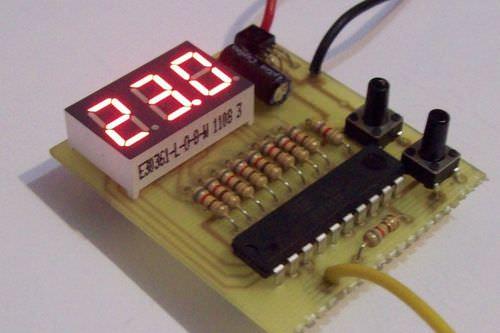 самоделный терморегулятор
