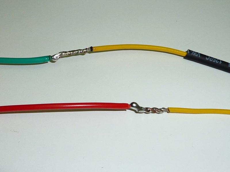 медный и алюминиевый провода